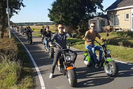E-chopper (e-scooter) Verhuur Noordwijk