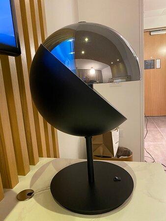 Pac man lamp
