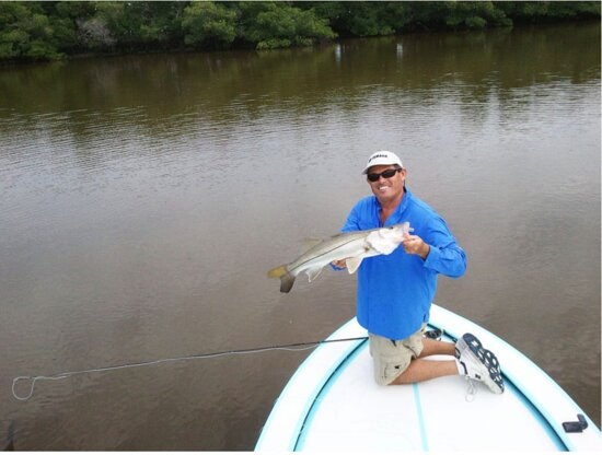 Fishing for snook is such fun.