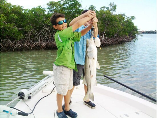 Kids have a great time fishing in Southwest Florida also!