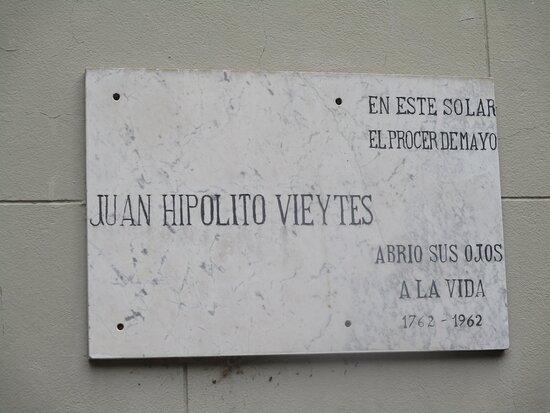 Solar Natal de Hipòlito Vieytes