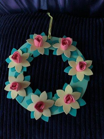 Daffodil Wreath Kit