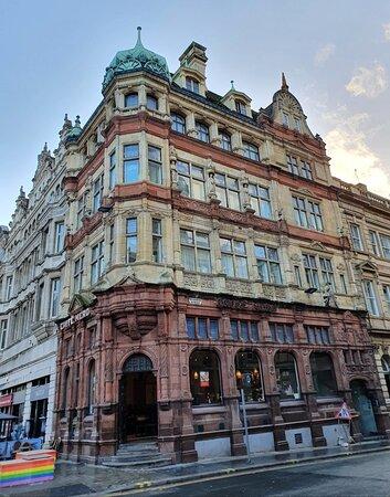 Adelphi Bank Building along pedestrianised Castle Street