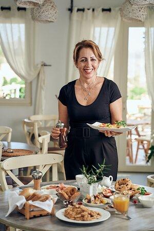 Maria our hostess