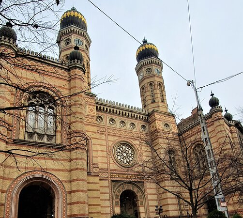 Great / Central Synagogue (Nagy Zsinagoga)  - Picture No. 14 -  By israroz - (Dec. 2019)