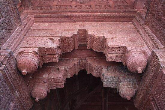 Agra palazzo di Jahangir - decoro