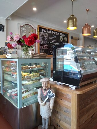 Red Tractor Cafe, 124 Normanby Road (main road) PAEROA, NEW ZEALAND