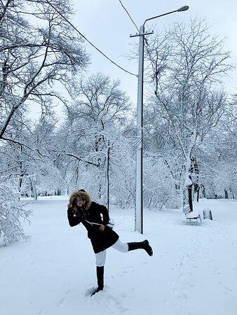Odessa, Ukraine: A beautiful city in white