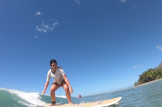 Go big or go home! Surf lessons...