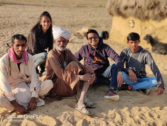 Make relationship with local. Hard life of desert and they have great smile on face