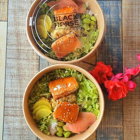 Salmon Teriyaki Don for less than rm18 pre order ☎️ 03-8958 4399