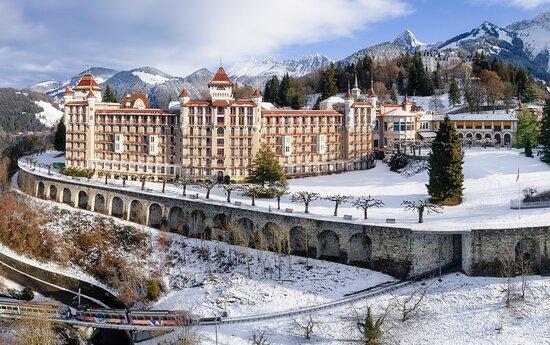 Conference and Seminar Centre à Caux (au-dessus de Montreux / VD)