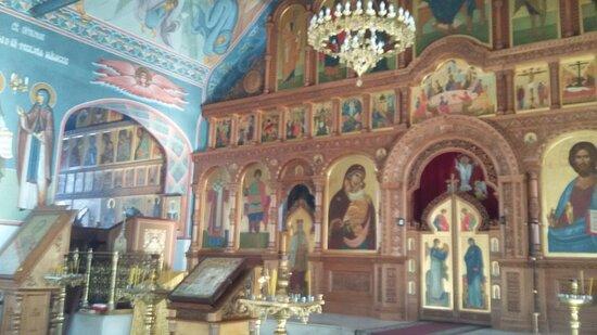 Главный иконостас Воскресенского собора