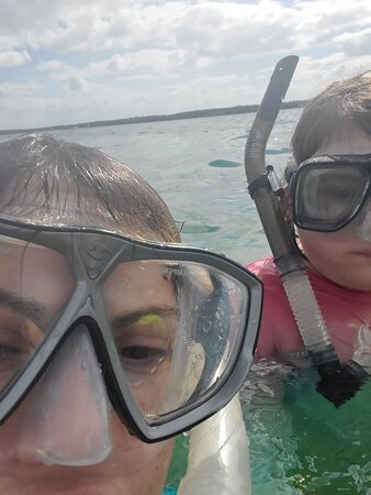 Snorkeling 🤿 all ages. Everyone should have this experience