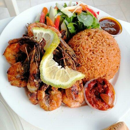 Ghanaian Jollof rice