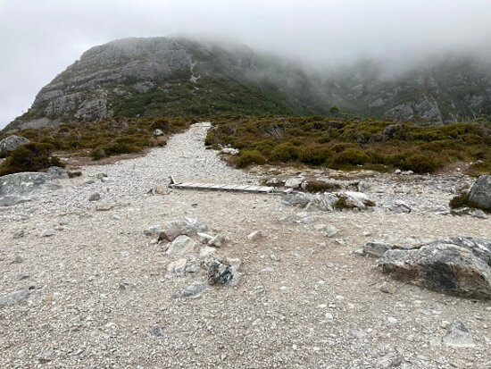 Marions Lookout In The Mist