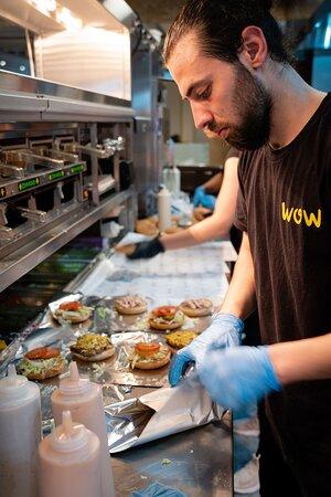 Wawburger Zuidplein Hoog opening