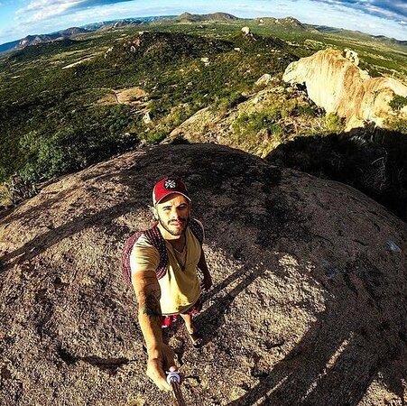 Venturosa, PE: Parque Pedra Furada  #sertao #paisagem