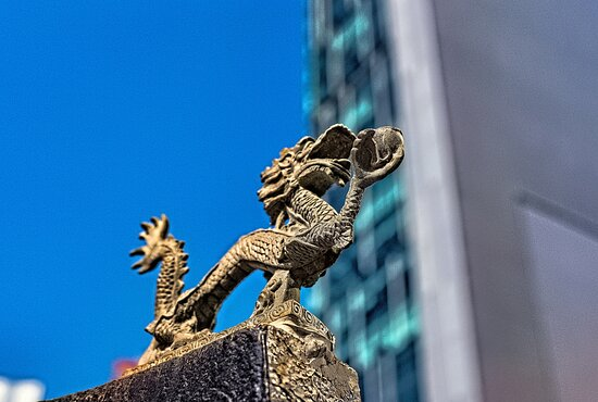 Dragons everywhere in Hong Kong
