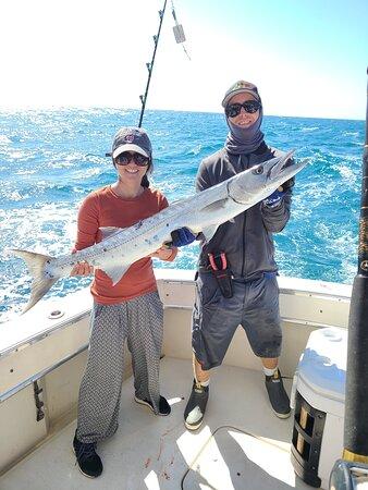 Corsair 2 Sportfishing Key West: Huge barracuda
