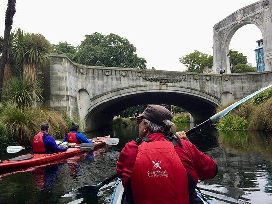 Christchurch Bridge of Remembrance