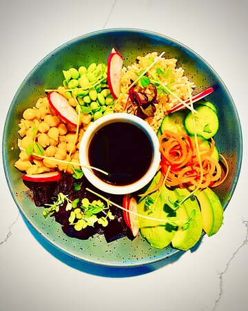 POKE Bowl - can add chicken or smoked Salmon