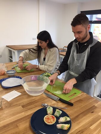 All our workshops are hands-on so you'll get cooking straight away!