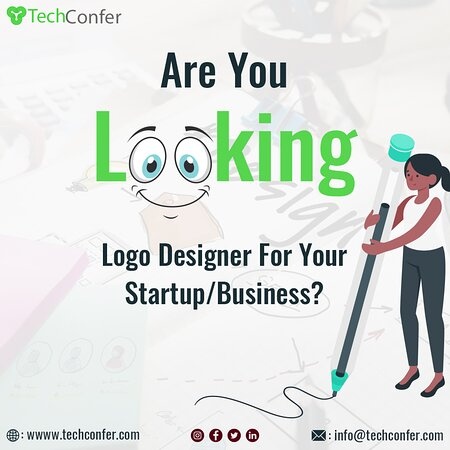 Noida, India: Looking For Creative Logo Design But don't have an idea about logo design and where to start?  Let's take one step towards to design your business brand or business for a creative logo design with TechConfer Technologies.