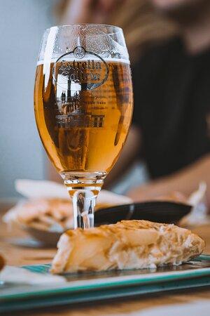 Tortilla y cerveza, ¿combinación perfecta? sí es.