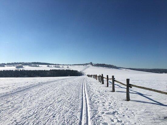 Adolfov, Czech Republic: Zimní krajina