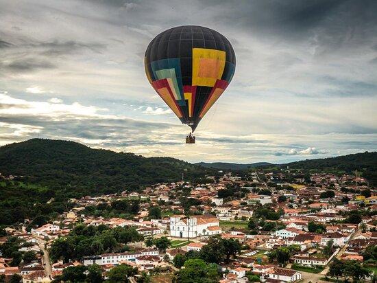 Voe De Balão Em Piri