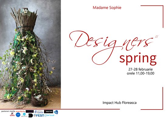 Spring begines with creative shopping at Designers Spring. Between 27-28 of february we wait you at Impact Hun Bucharest (Floreasca) Gara Herastrau 2 with true fashion brands!