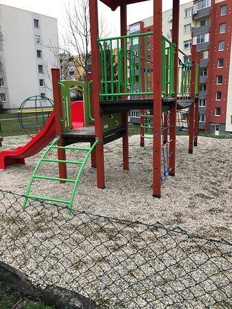 Detské ihrisko Novomestského Spielplatz Nitra Slowakei Slovensko