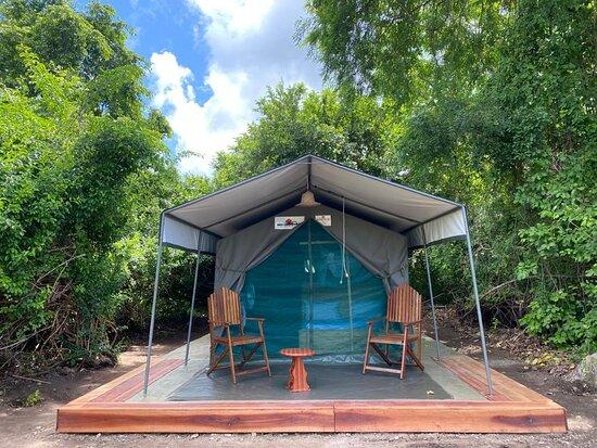 Mloka, تنزانيا: Standard tent Double bed