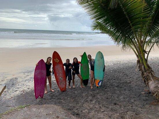 Itacare, BA: a turma surf power