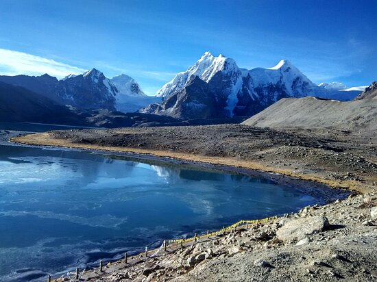 Stop dreaming about your Bucket Lists,and Start living It...   Location : G U R U D O N G M A R L A K E, North Sikkim