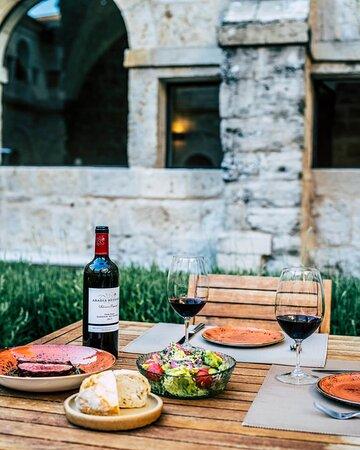 Le Domaine Dinner At Cloister Restaurant