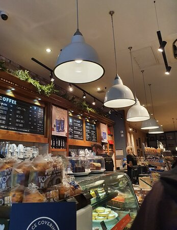 Caffé Nero along Lord Street