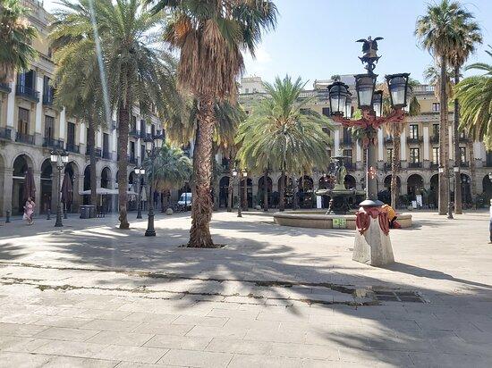 Barcelona, Spain: Plaça Rial