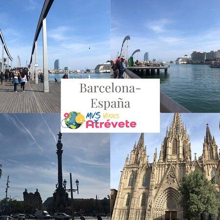 Barcelona, Spain: Viajeros Mvs Viajes Atrévete Excelente viaje
