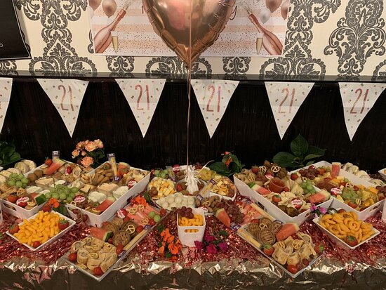 Buffet available for groups - enquire directly