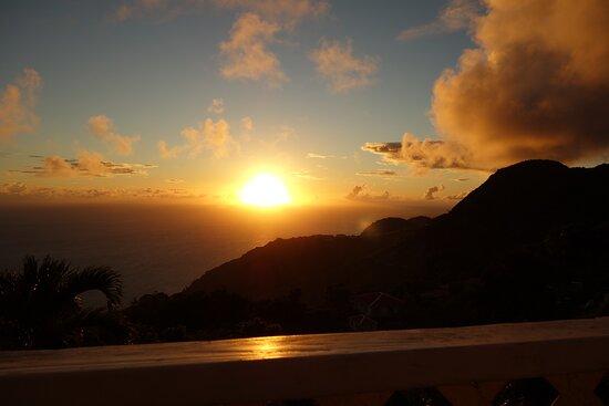 Sunset view.