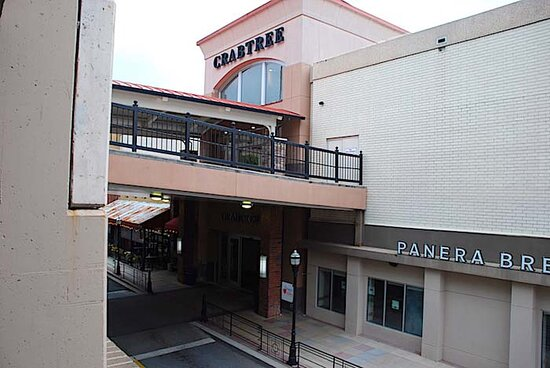 Kabobi is located in food court on the second floor of Crabtree Valley Mall