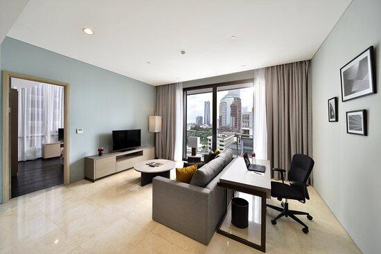Living Room  – Foto de Crowne Plaza Jakarta Residences, Jacarta - Tripadvisor