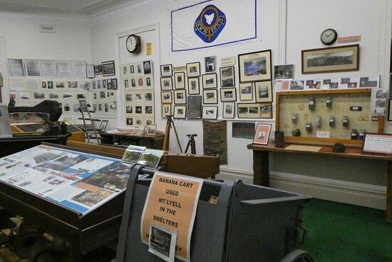 30 rooms full of displays
