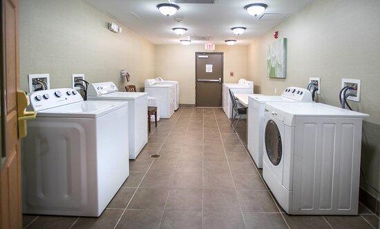 Guest Laundry Room at hotel near Augusta Riverwalk