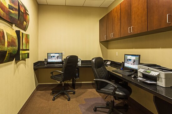Send that last minute email in our Business Center