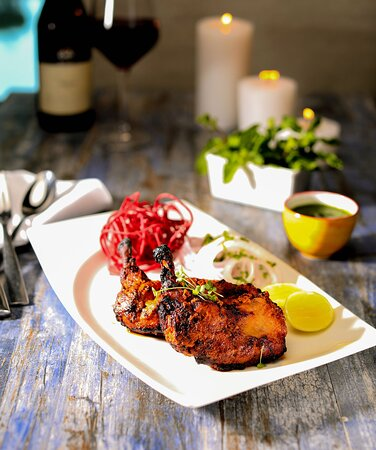 Grilled delights at Mosaic Restaurant