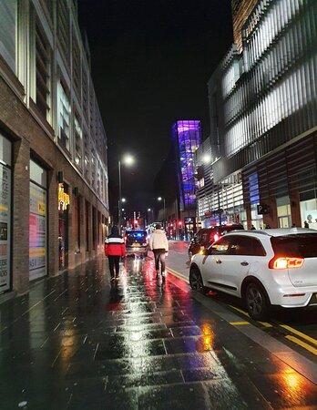 Vibrant street