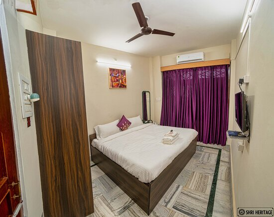 The vibrant Double Bed Room with the Balcony